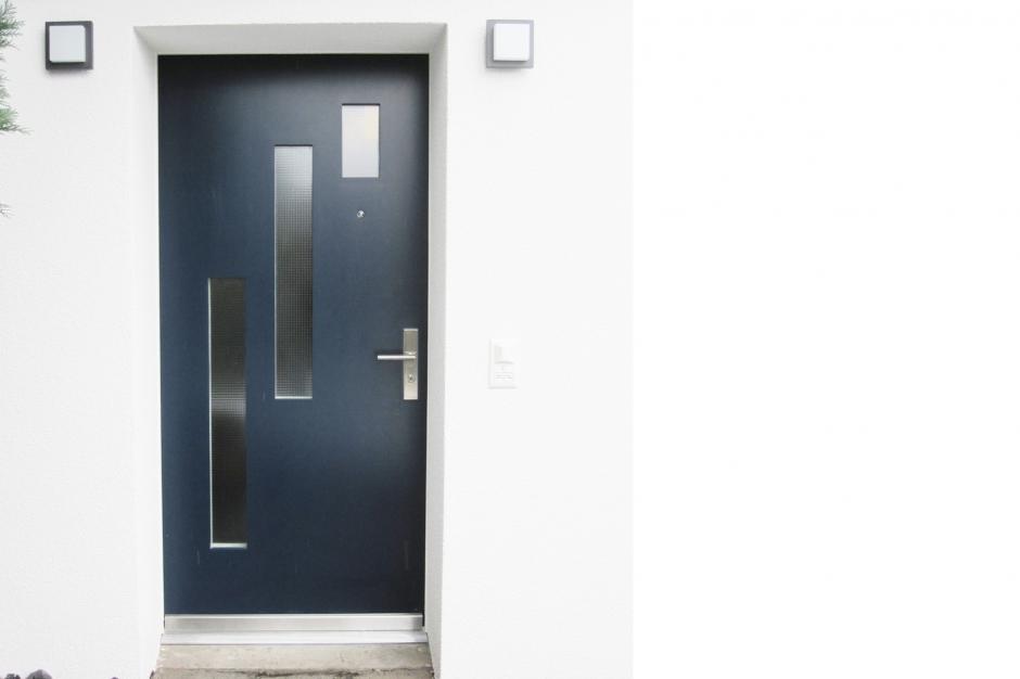 Möbel-Innenarchitektur-Schreinerei » Schreinerei – Türe 3 mal Glas ...
